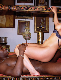 Sandra just cant resist a big rock hard cock in her mouth