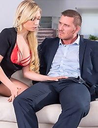 Blonde Gabi Gold Enjoys Anal with Teacher