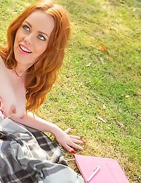 Ella Hughes, Fucked and Facial in the Park